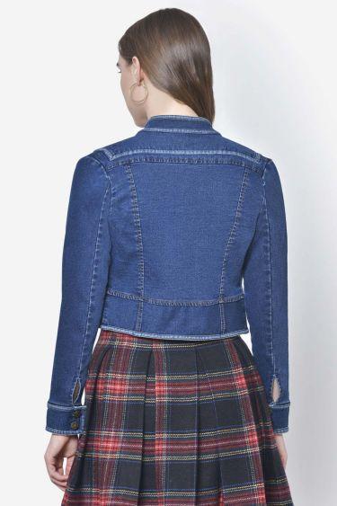 Denim Short Taped Jacket