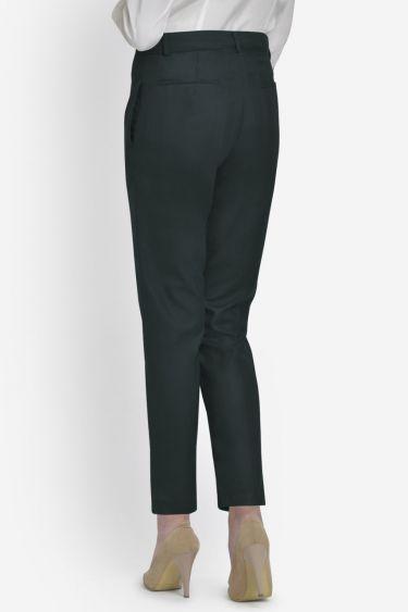 Green Checks Formal Trouser
